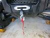 etrailer ATV Winch - Synthetic Rope - Hawse Fairlead - 5,000 lbs Plug-In Remote E98989 on 2020 Honda Pioneer 1000-5