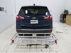 2021 chevrolet equinox hitch cargo carrier etrailer fixed fits 2 inch on a vehicle