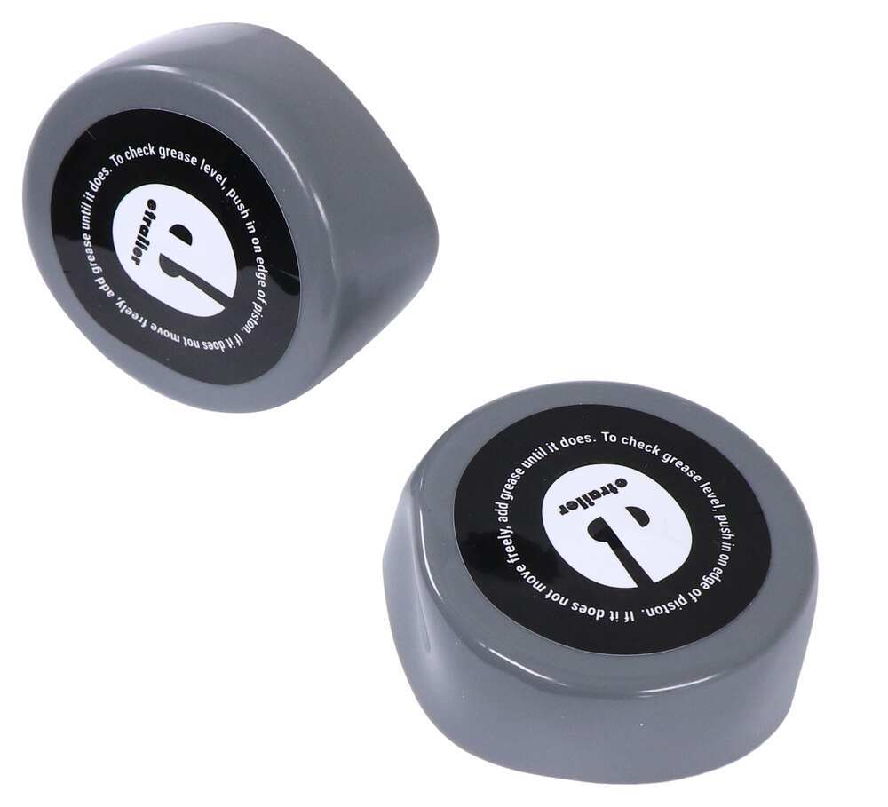 """Replacement Dust Caps for etrailer Bearing Protectors for 2.32"""" Hub Bore - Qty 2 Dust Caps E99036"""