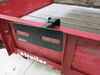 etrailer Spare Tire Carrier for Trailer with Angle-Iron Railing - Clamp On No Lift E99045