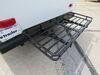 0  rv cargo carrier etrailer 24 inch deep 24x60 for bumper - steel folding 500 lbs