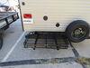 2018 keystone hideout travel trailer rv cargo carrier etrailer 500 lbs 24x40 for bumper - steel folding