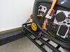 0  rv cargo carrier etrailer 24 inch deep 24x40 for bumper - steel folding 500 lbs
