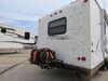 0  rv cargo carrier etrailer bumper mount 24x40 for - steel folding 500 lbs