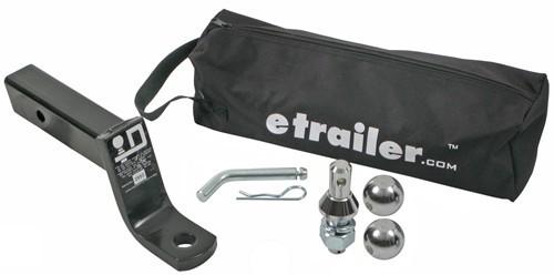 Trailer Hitch Ball Mount EBMK4 - Fits 2 Inch Hitch - etrailer