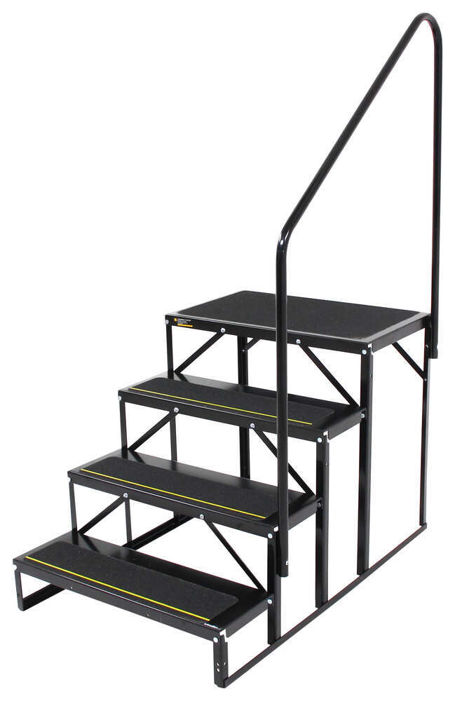 RV and Camper Steps EHS-103-R - Ground Contact - Stromberg Carlson