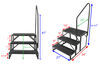 EHS-102-R-HR - 7 Inch Drop/Rise Stromberg Carlson RV and Camper Steps