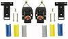 erickson ladder rack straps double-j hooks 1-1/8 - 2 inch wide em04425-2