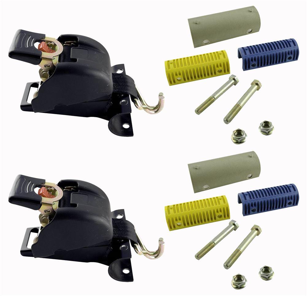 Ladder Rack Straps EM04425-2 - Double-J Hooks - Erickson