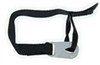 """Erickson Snowmobile Recovery Strap w/ Hooks - 1"""" x 10' - 375 lbs Max Vehicle Weight 1 Inch Wide EM05001"""