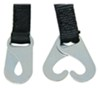 """Erickson Snowmobile Recovery Strap w/ Hooks - 1"""" x 10' - 375 lbs Max Vehicle Weight Closed Hooks EM05001"""