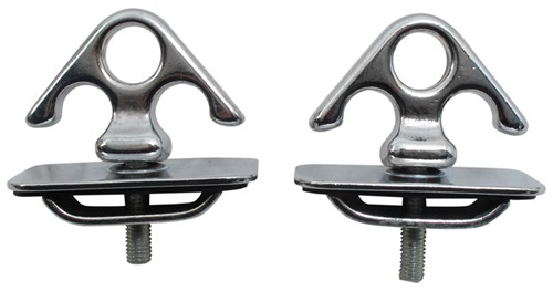 Erickson Stake Pocket Tie Down Chrome 51008