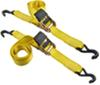 "Erickson Easy Ratchet Tie-Down Straps w/ Release Levers - 2"" x 10' - 1,333 lbs - Qty 2 1-1/8 - 2 Inch Wide EM34410"