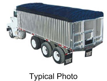 EM57051 - Black Erickson Truck and Trailer Tarp