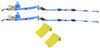 Erickson E-Track Tie-Down Kit w/ 2 Ratchet Straps with Roller Idlers and 2 Wheel Chocks - 1,100 lbs 851 - 1200 lbs EM58523-09162