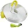 erickson tow straps and recovery strap reinforced loops w/ loop ends - 2 inch x 30' 9 000 lbs max vehicle weight