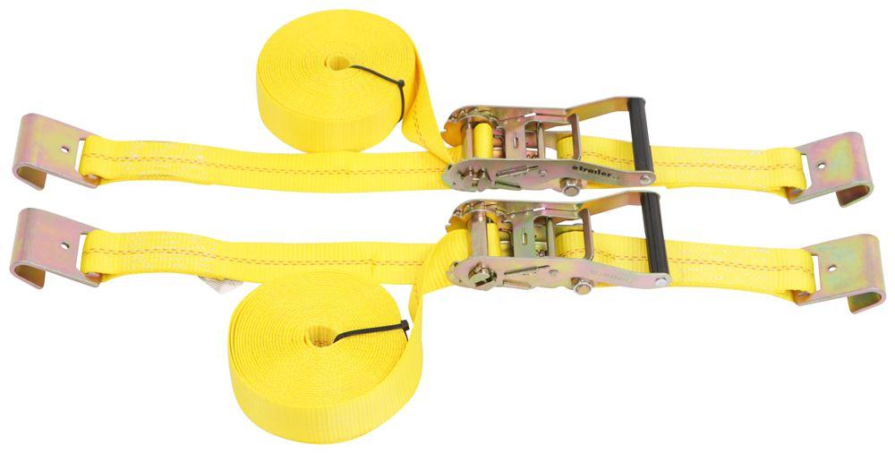 Erickson Flat Hooks Ratchet Straps - EM78527-MS2
