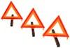 custer emergency supplies warning triangles emt3