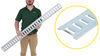 Brophy Horizontal E-Track - Zinc Plated Steel - 5' Long - Qty 1 Horizontal ET05