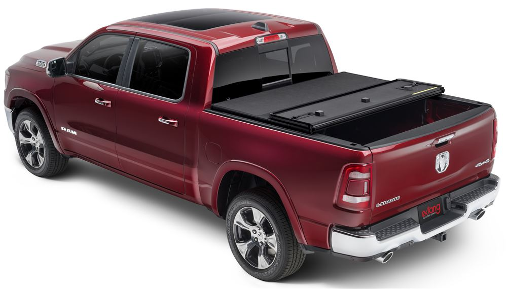 EX83422 - Matte Black Extang Fold-Up Tonneau
