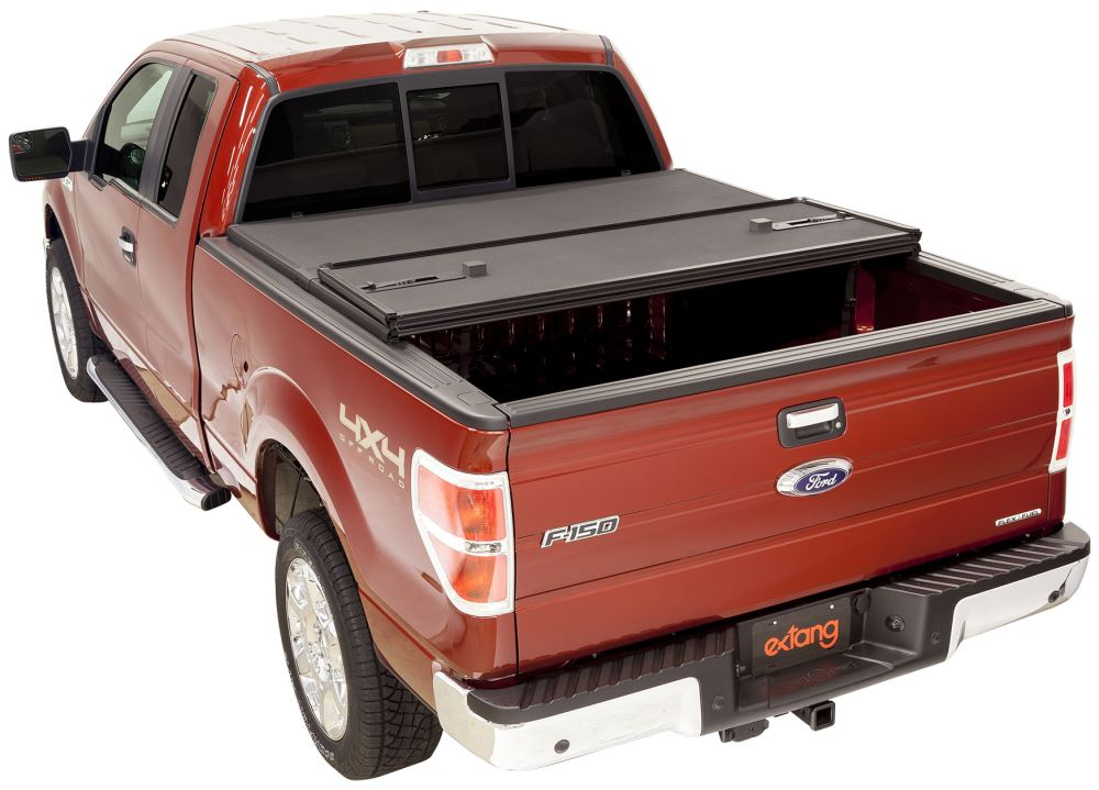 Extang Solid Fold 2.0 Hard Tonneau Cover - Folding - Polypropylene Opens at Tailgate EX83895
