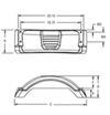 Trailer Fenders F008559 - For Single-Axle Trailers - Fulton