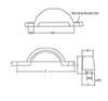 Fulton White Trailer Fenders - F008573