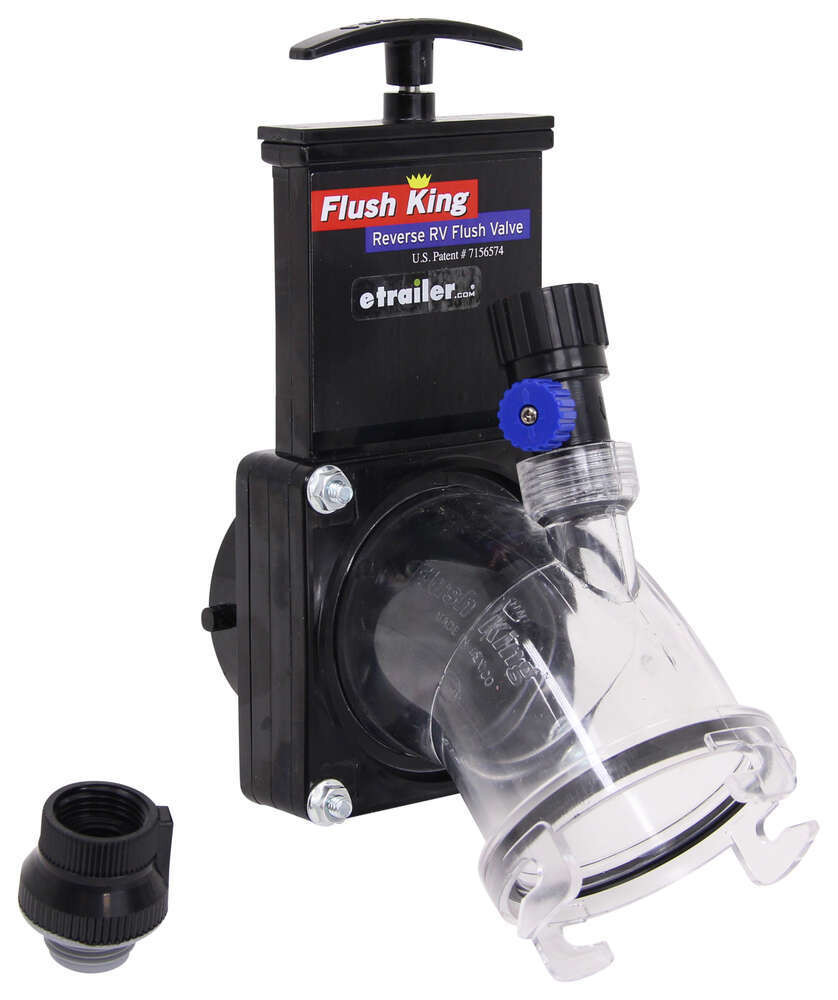 RV Waste Valves F02-4350 - Stationary Valve - Flush King