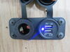 0  12v power accessories furrion socket dual usb charger and 12 volt receptacle - led indicator