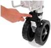 fulton trailer jack side frame mount swivel - pull pin