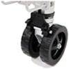fulton trailer jack side frame mount swivel - pull pin f2 swing-up dual 7 inch wheels sidewind bolt-on 1 600 lbs