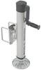 fulton trailer jack sidewind no drop leg f2 swing-up w/ pivoting footplate - 4 inch-5 inch frames bolt on 2 000 lb