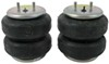 firestone vehicle suspension rear axle enhancement ride-rite air helper springs - double convoluted