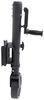 fulton trailer jack side frame mount swivel - pull pin xlt bolt-thru bolt-on sidewind 10 inch lift 1 500 lbs black