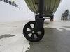 0  trailer jack fulton side frame mount no drop leg xlt bolt-thru swivel - bolt-on sidewind 10 inch lift 1 500 lbs black