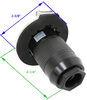furrion rv power inlets 50 amp twist lock male plug dimensions