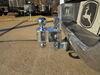 0  trailer hitch ball mount fastway adjustable drop - 6 inch rise 7 flash e series 2-ball w chrome balls 2