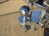0  trailer hitch ball mount fastway two balls drop - 6 inch rise 7 in use