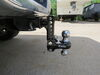 0  trailer hitch ball mount fastway adjustable 2 inch 2-5/16 two balls in use