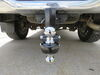 0  trailer hitch ball mount fastway adjustable 2 inch 2-5/16 two balls flash solid steel 2-ball - 6 drop 7 rise 8k or 12k
