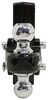 """Flash Solid Steel HD Adjustable 2-Ball Mount - 2-1/2"""" Hitch - 6"""" Drop, 7"""" Rise - 20K Fits 2-1/2 Inch Hitch FA49-00-5625"""