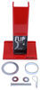 """Fastway Flip Automatic Fold-Up Jack Foot for 2-1/4"""" Jacks - 6"""" Extension - 1,400 lbs Jack Foot FA88-00-6500"""