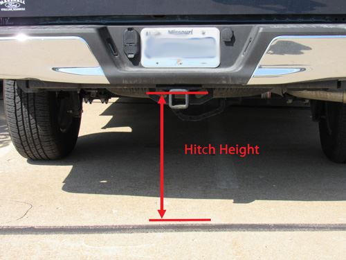 Measuring Hitch Height