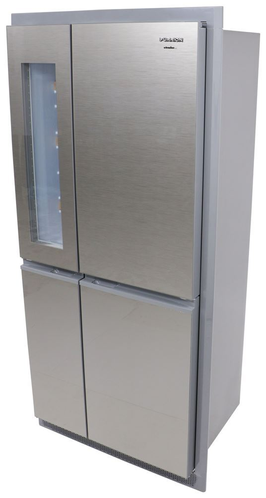FCR14ACBQASS - Stainless Steel Furrion Full Fridge with Freezer