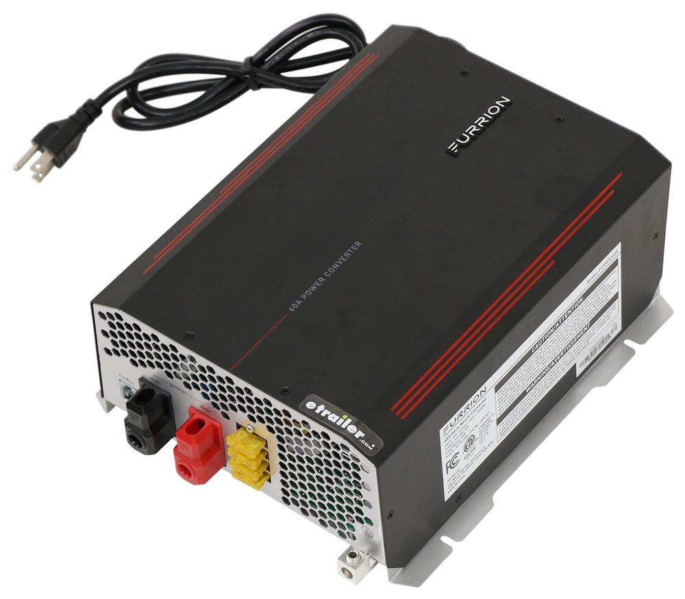 Furrion RV Converter and Battery Charger - 12V - 60 Amp Smart Charge FCVSDC60A