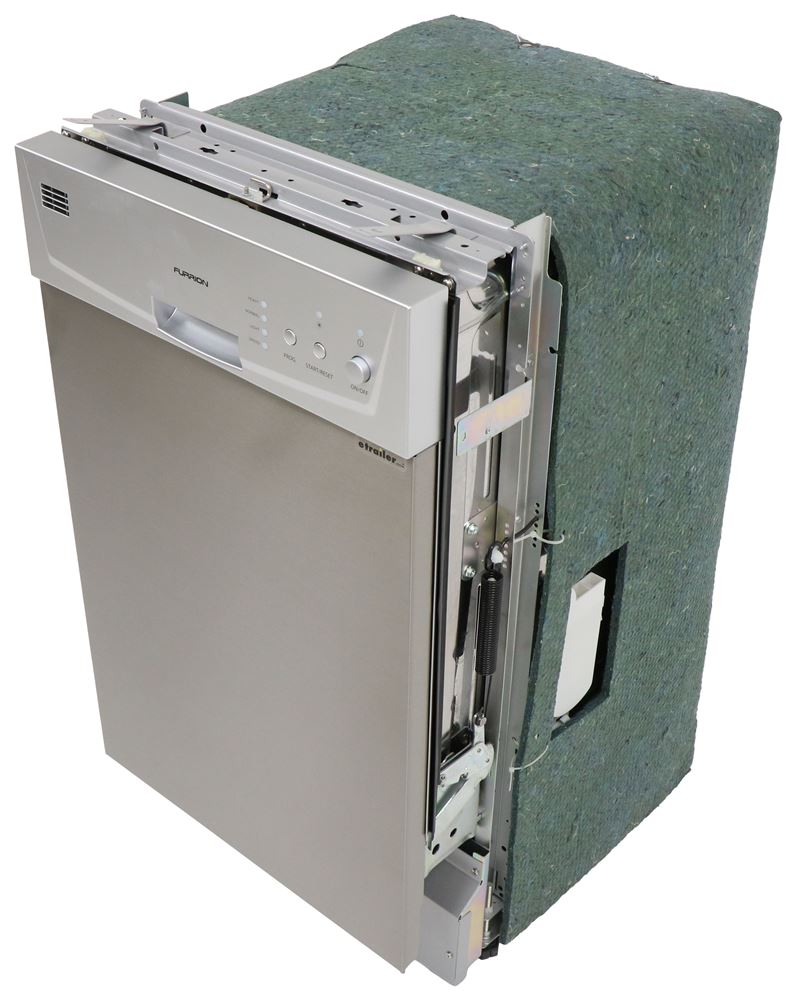 FDW18SASSS - 22-1/8 Inch Deep Furrion Built-In Dishwasher