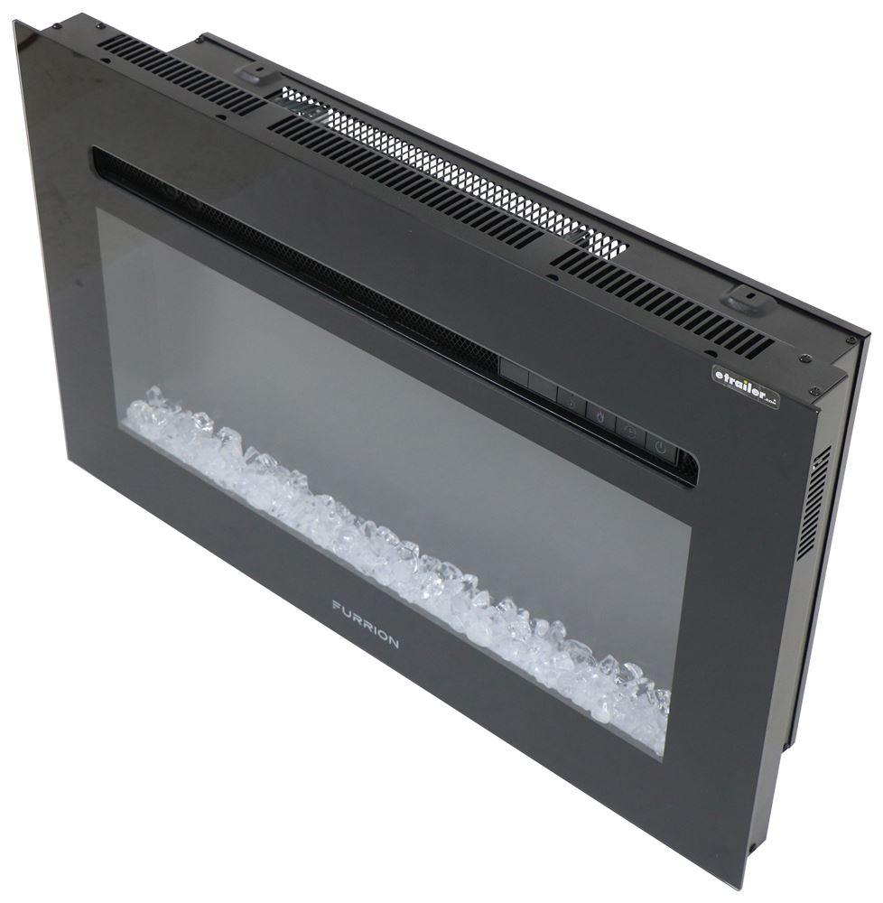 RV Fireplaces FF30SC15ABL - Black - Furrion