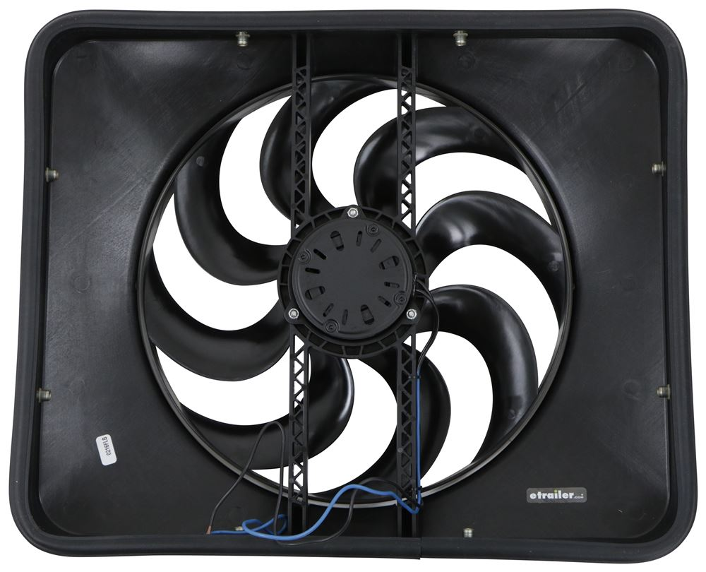 Flex-a-lite 180 Black Magic X-treme 15 Reversible Electric Fan