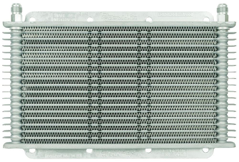Flex-a-lite With - 6 AN Inlets Transmission Coolers - FLX400017