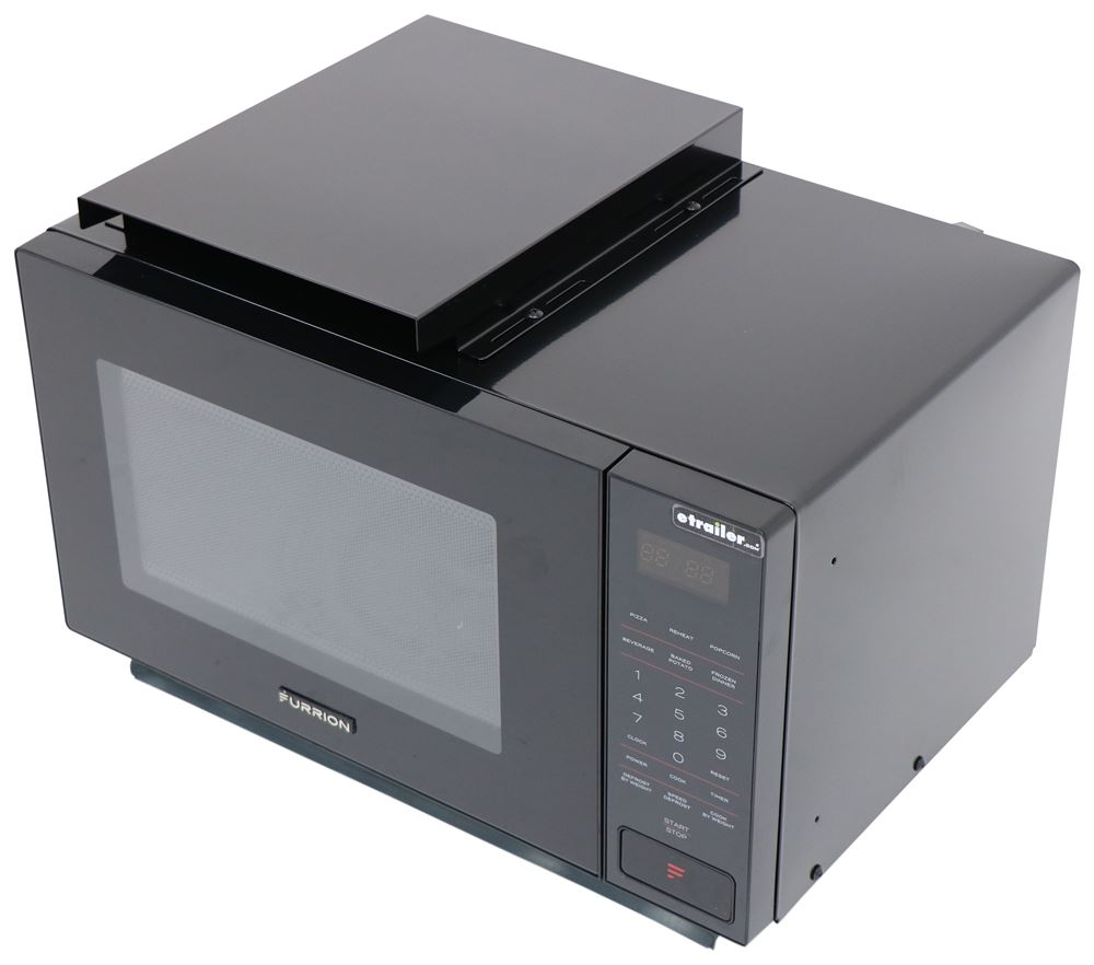 RV Microwaves FMSN09BL - Black - Furrion